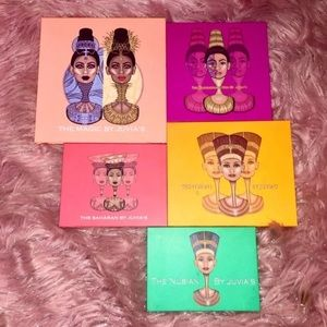 5 Barely Used Juvias Place Palettes